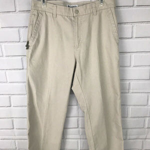 Columbia Womens Khaki Pants Size 10 Short